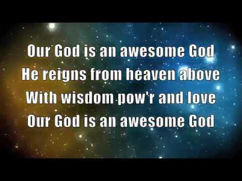 our god is an awesome god lyrics pdf