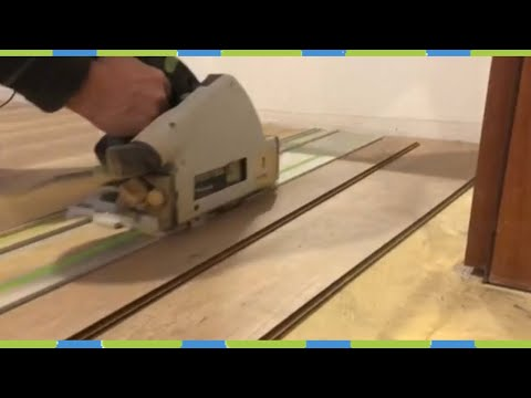lay-the-laminate,-shorten-the-door,-attach-the-transition-strips