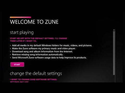 Zune HD Not Installing, Can't Find Zune Software Installer, Zune Software Installation Error
