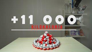 Tein turhan Maailmanennätyksen | + 11 000kcal | ei ft. Setämiehet
