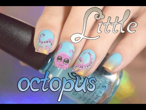 Little octopus nails | Red iguana | April Ryan