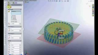 Solidworks tutorial: Gear making Flex twist  Bend