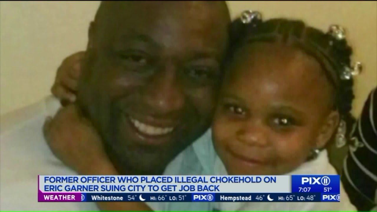 White on Black Crime:KKKop fired after Garner chokehold sues city to get job back