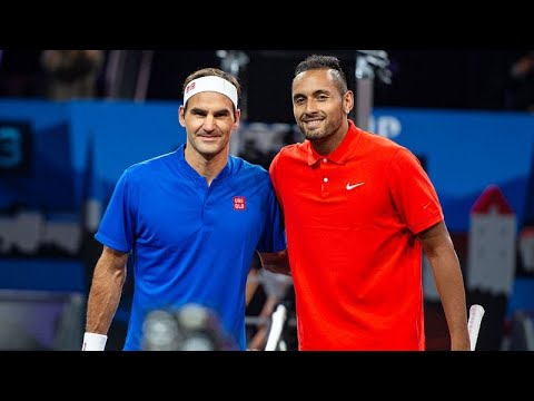 Roger Federer vs Nick Kyrgios Laver Cup 2019 FULL MATCH