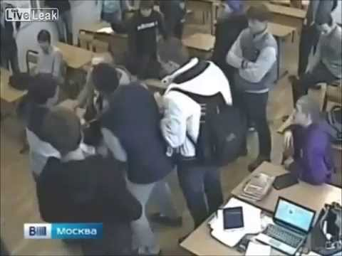 LiveLeak News - Bullies Trip Student Who Hits his Throat on Desk and Dies