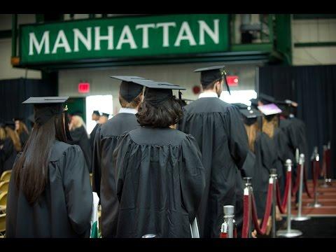 Manhattan College Undergraduate Commencement 2017