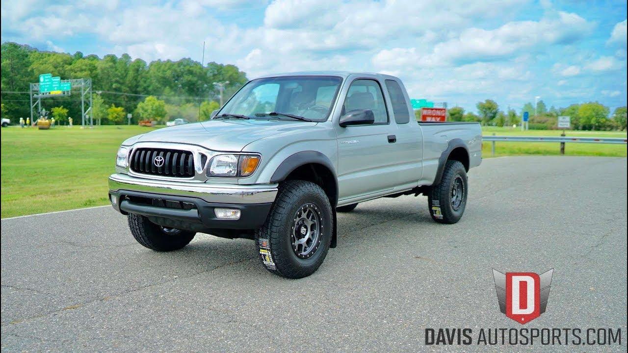 Davis autosports toyota tacoma 5 speed 1 owner only 64k miles