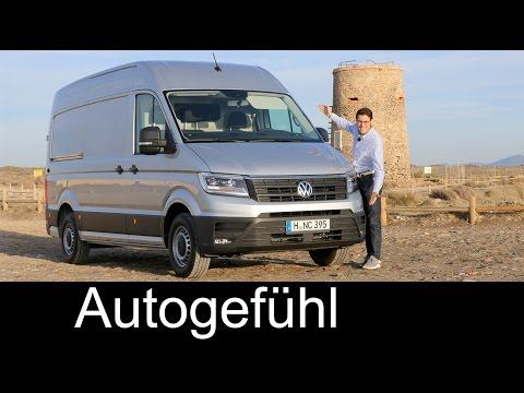 VW Volkswagen Crafter FULL REVIEW test driven All-new neu 2018/2017 - Autogefühl