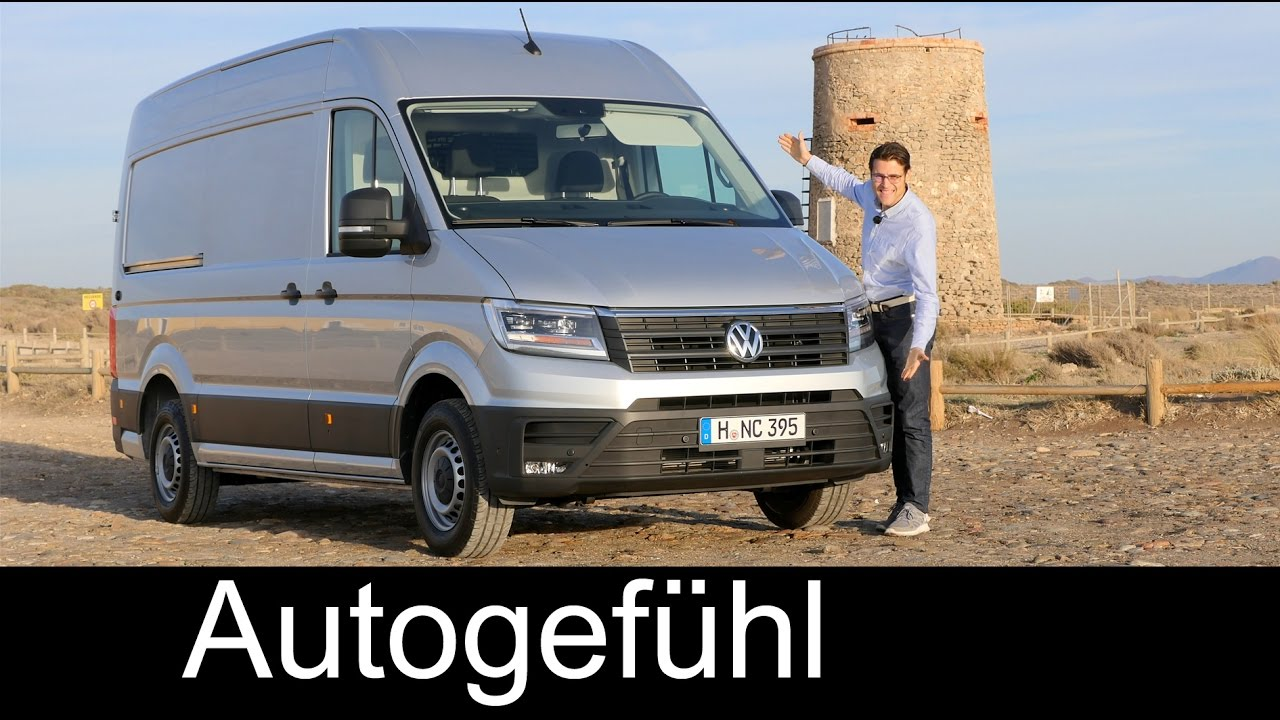 vw volkswagen crafter full review test driven all new neu 2018 2017 autogef hl youtube. Black Bedroom Furniture Sets. Home Design Ideas