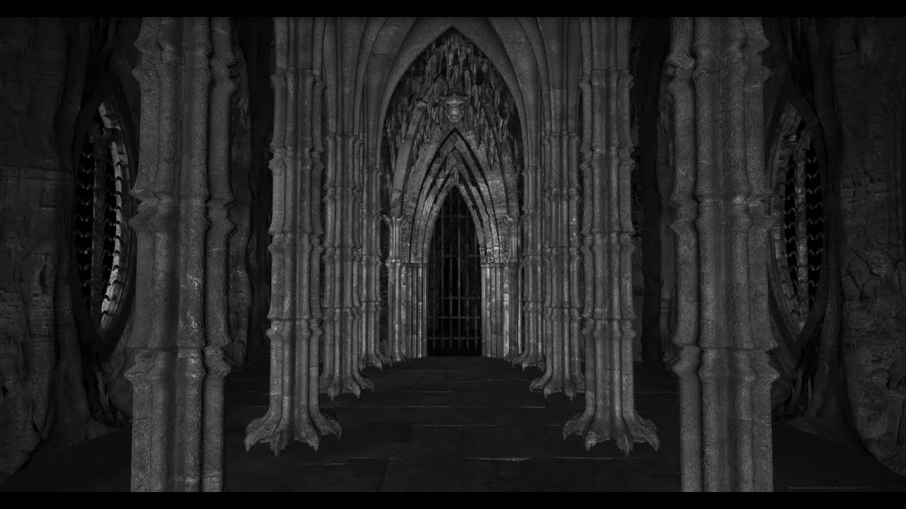 Gothic Castle - Endless Gallery - Loop - YouTube