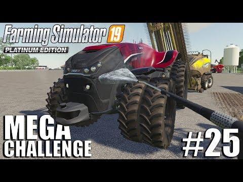mega equipment challenge 2.0 | nebraska map | timelapse #25 | fs19 | farming simulator 19