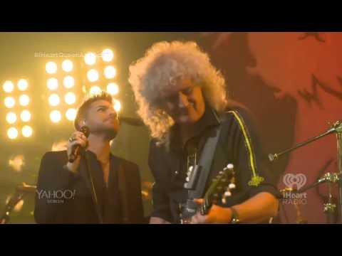 20140616 iHeartRadio  Fat Bottomed Girls Queen + Adam Lambert  stream
