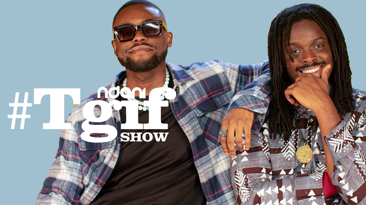 Download Lojay and Tomi Thomas on the NdaniTGIFShow
