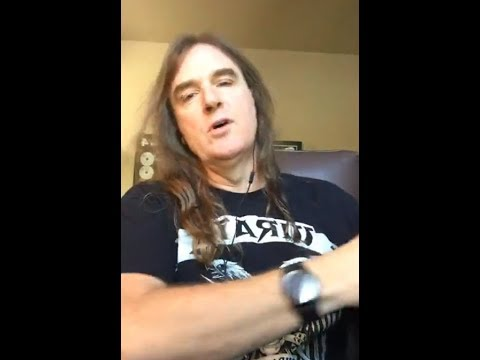 Megadeth's David Ellefson says they have some new material written (interview)..!