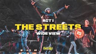 IDENTITY | ACT 1: THE STREETS | WIDE VIEW