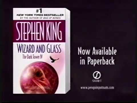 stephen-king:-wizard-&-glass---the-dark-tower-iv-paperback-book-ad-(1998)