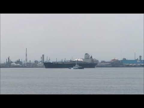 BW KYOTO 出港 LPGタンカー(Liquefied Petroleum Gas Tanker)