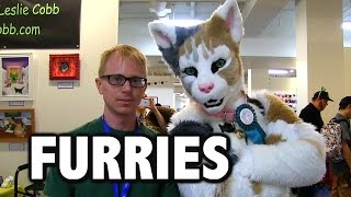 Joe Interviews Furries At CatCon