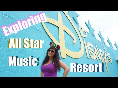 Exploring Disney's All Star Music Resort - Walt Disney World Resort