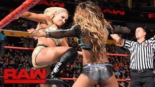 Charlotte Flair & Sasha Banks vs. Alicia Fox & Nia Jax: Raw, Nov. 14, 2016
