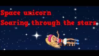 Space Unicorn Msp Version Lyrics