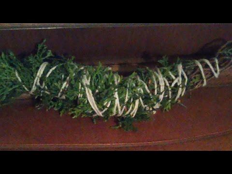 DIY ~Cedar Smudge Wand