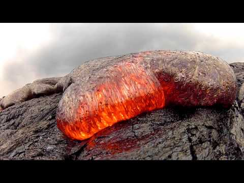 7 15 13 Lava Flow Hawaii Kilauea Volcano Lava Flow GoPro Hero 2