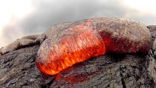 Video 7 15 13 Lava Flow Hawaii Kilauea Volcano Lava Flow GoPro Hero 2 download MP3, 3GP, MP4, WEBM, AVI, FLV Agustus 2017