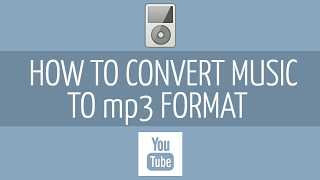 How to convert your audio to MP3