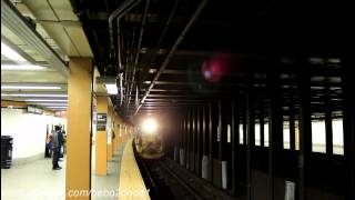 MTA Fastrack (2013): IND R68 (D) Train Ends and Begins at E. 161st St