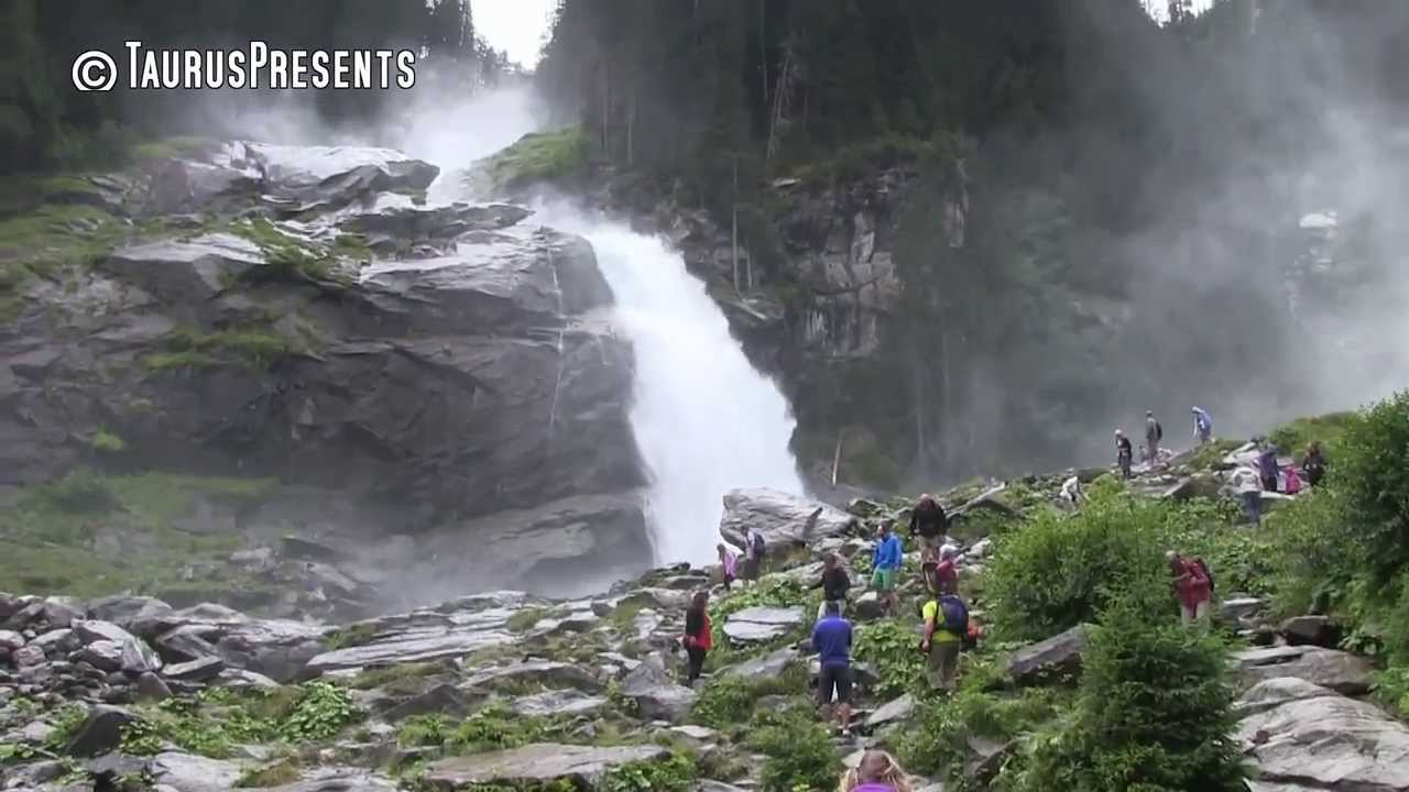 Krimml Waterfalls / Krimmler Wasserfälle - YouTube