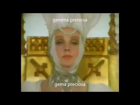 24. Ave formosissima (Español-Latín)