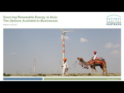 Sourcing Renewable Energy in Asia: The Options Available to Businesses