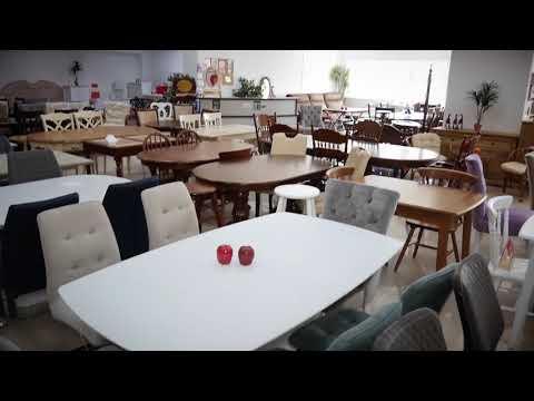 Видео-экскурсия салоны Red Apple | Купить дизайнерскую мебель из натурального дерева в Калиниграде