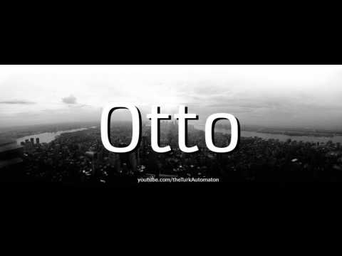 How to pronounce Otto Neurath in German