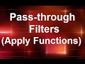 MicroStrategy - Passthrough Filters - Online Training Video by MicroRooster
