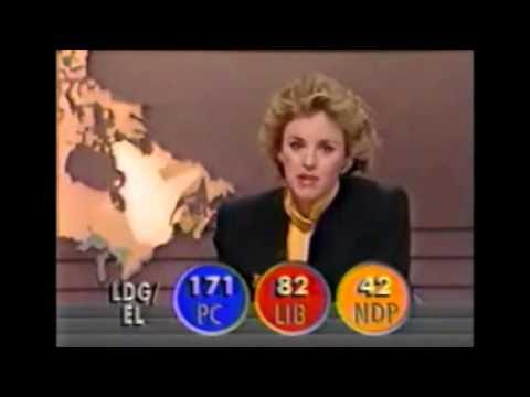 CBC, CBET election coverage - November 21, 1988