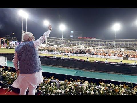 PM Shri Narendra Modi's speech at Run for New India Marathon in Surat, Gujarat : 25.02.2018