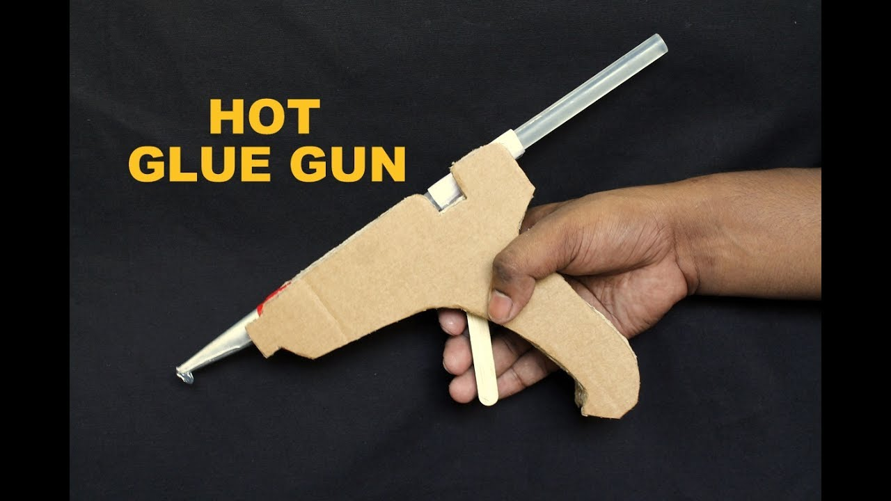 How to Make a Hot Glue Gun at Home DIY