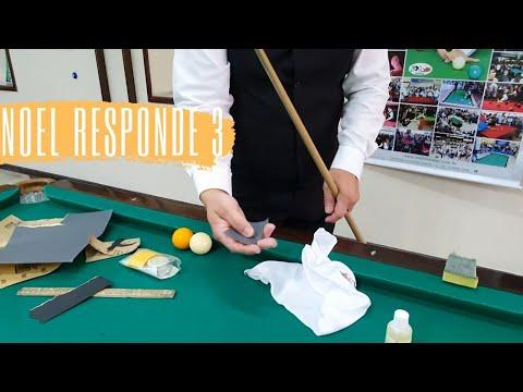 Como limpar o taco de sinuca? Noel Responde - 3 (Especial Tacos)