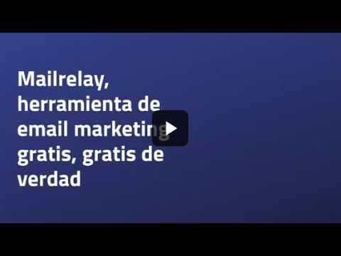 Herramienta de email marketing gratis