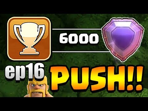 A ROOSTER & ALI REZA TH11 Trophy Push to Top 200 ep16   Clash of Clans