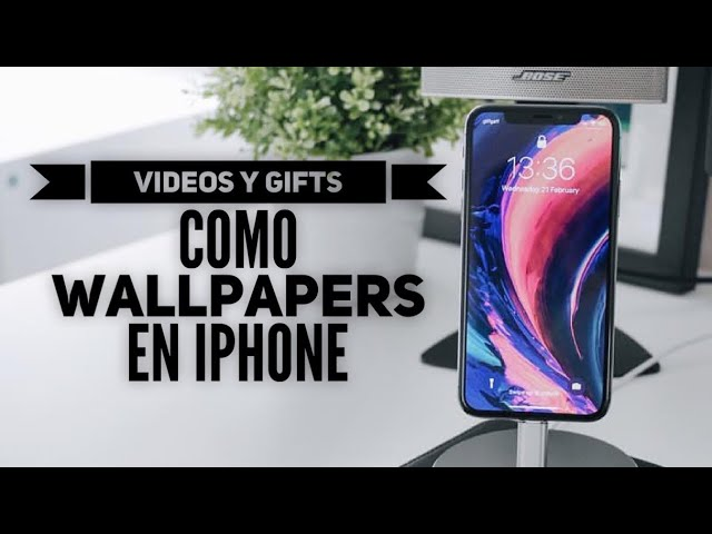 Como Poner Videos Como Fondo De Pantalla En Iphone Youtube