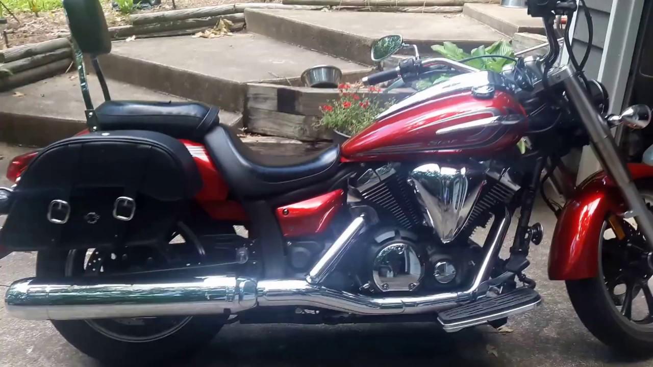 Motorcycle saddlebags brackets for Yamaha Cruiser V-Star 1300
