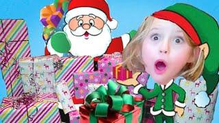 Opening Presents FROM: SANTA Christmas Morning