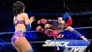 Asuka & Becky Lynch Vs The Iconics Full Match - WWE Samckdown Live Highlights 24th April 2018