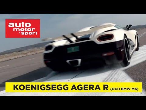 Provkörd: Koenigsegg Agera R och BMW M6