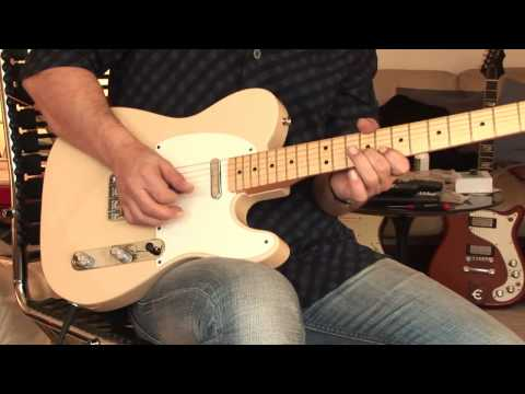 Fender Baja Tele with out-of-phase sounds