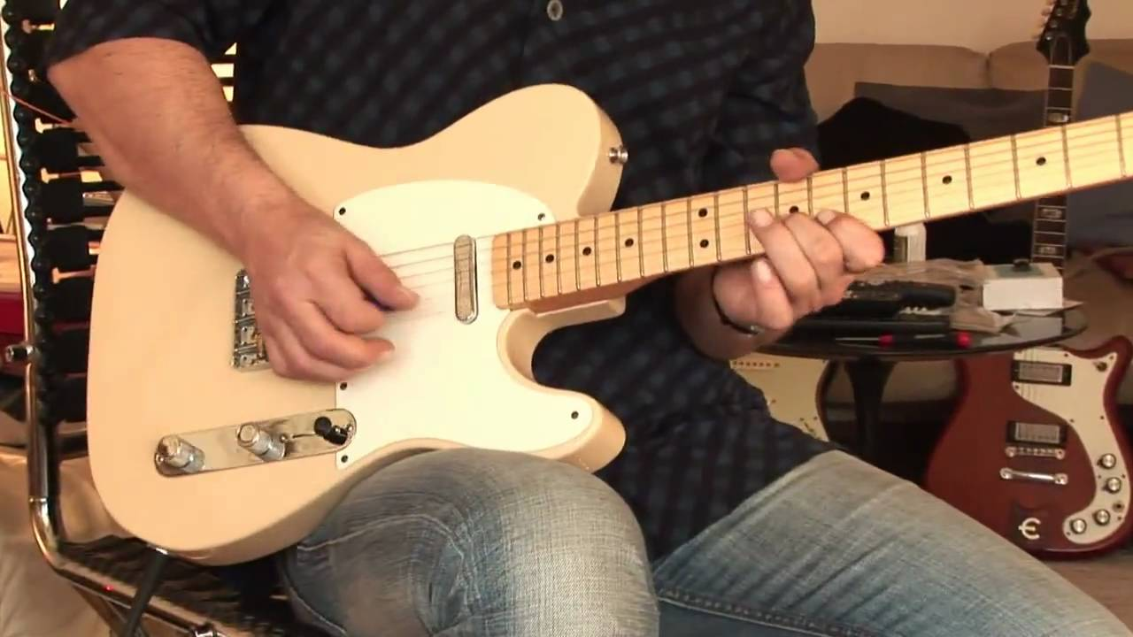 fender baja tele with out of phase sounds [ 1280 x 720 Pixel ]