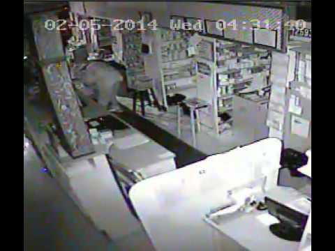 Pharmacy Burglary 2/5/2014 (Clip 1)